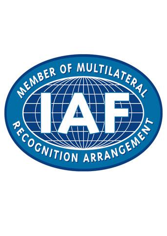 گواهینامه IAF